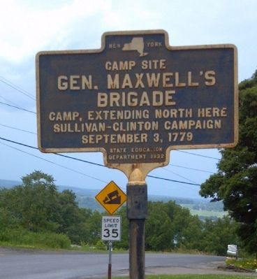 General Maxwell's Brigade Marker image. Click for full size.