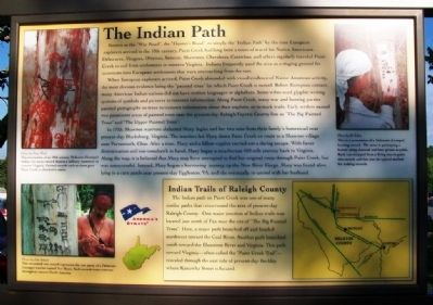 The Indian Path Marker image. Click for full size.