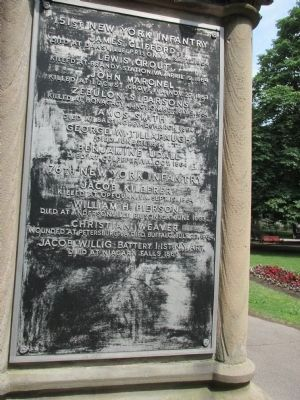 Town of Niagara Civil War Memorial image. Click for full size.