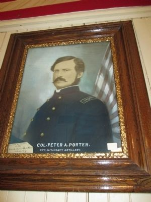 Peter A. Porter Portrait image. Click for full size.