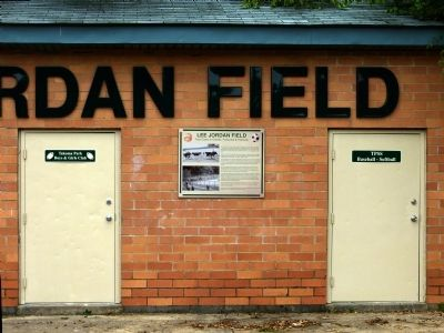 Lee Jordan Field Marker image. Click for full size.