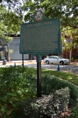 Old Hyde Park Marker image. Click for full size.