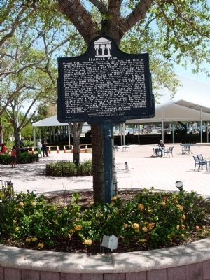 Flagler Park Marker image. Click for full size.