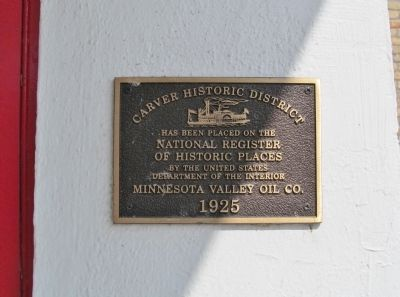 Minnesota Valley Oil Co. Plaque image. Click for full size.