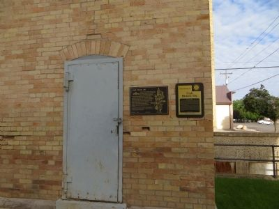 Juab Co. Jail Markers image. Click for full size.