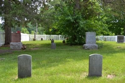 Northeast Corner of Greider / Oak Grove Cemetery image. Click for full size.