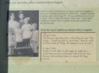 Close-up of Photo and Log image. Click for full size.
