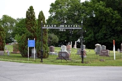 Entrance to Salem Cemetery image. Click for full size.