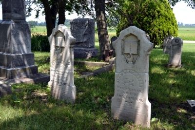 Early Headstones of Brumbaugh Cemetery image. Click for full size.