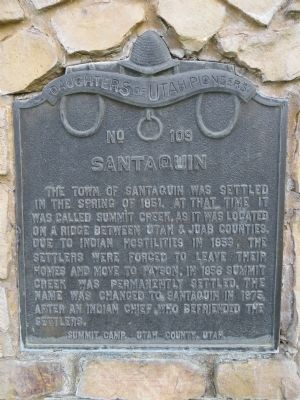 Santaquin Marker image. Click for full size.