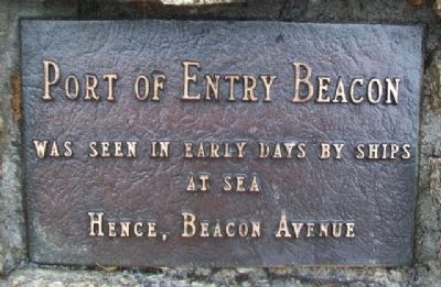 Port of Entry Beacon Marker image. Click for full size.
