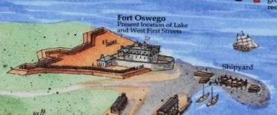Fort Oswego image. Click for full size.