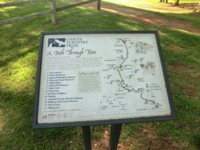Unicoi Turnpike Trail Marker image. Click for full size.