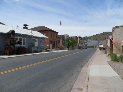 Main Street, Eureka, Utah image. Click for full size.