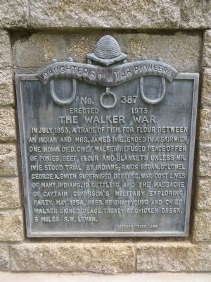 The Walker War Marker image. Click for full size.