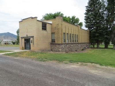 Scipio Town Hall image. Click for full size.