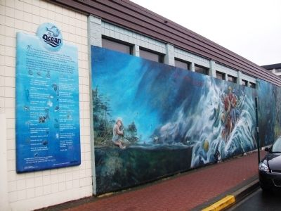 Year of the Ocean Marker and Mural image. Click for full size.