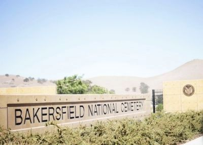 Bakersfield National Cemetery Marker image. Click for full size.