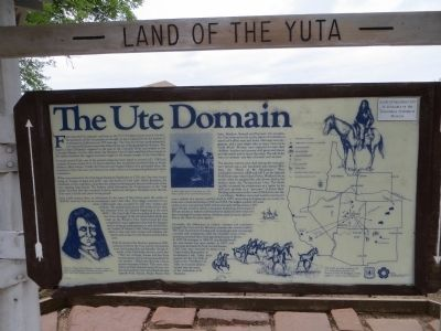 Land of the Yuta Marker - The Ute Domain image. Click for full size.