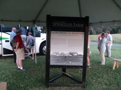 The George Spangler Farm Marker image. Click for full size.