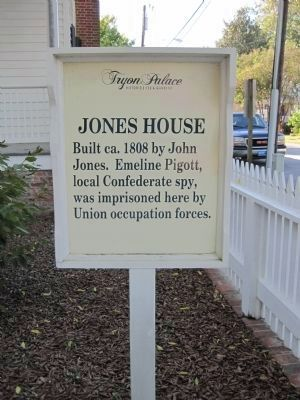 Another Jones House Marker image. Click for full size.