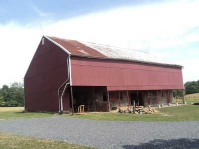 Barn at the George Spangler Farm image. Click for full size.