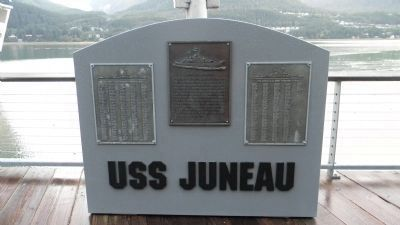 USS <i>Juneau</i> [CL-52] Memorial image. Click for full size.