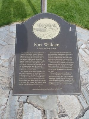 Fort Willden Marker image. Click for full size.