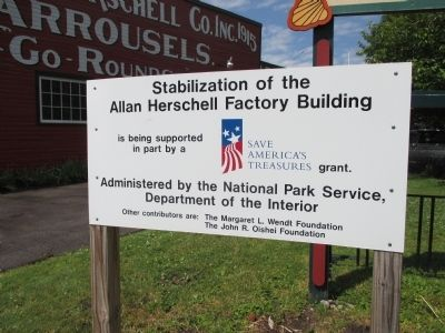 Factory Stabilization Sign image. Click for full size.