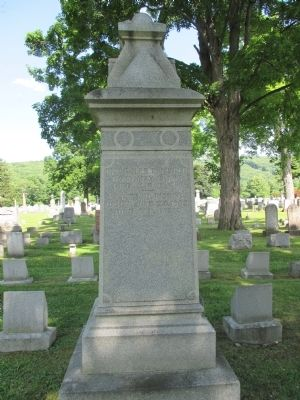 Mary Hosford Family Monument image. Click for full size.