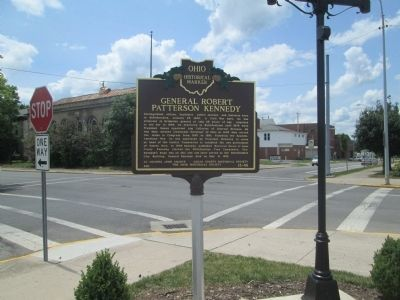 General Robert Patterson Kennedy Marker from distance image. Click for full size.