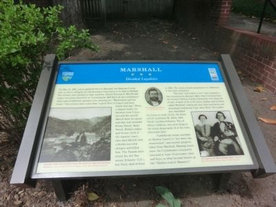 Marshall Marker image. Click for full size.