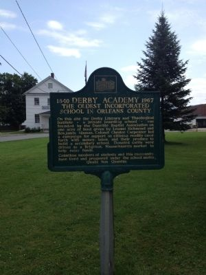 Derby Academy Marker image. Click for full size.
