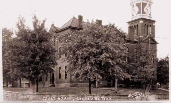 1900 Putnam County Courthouse, Cookeville, Tenn. image. Click for full size.