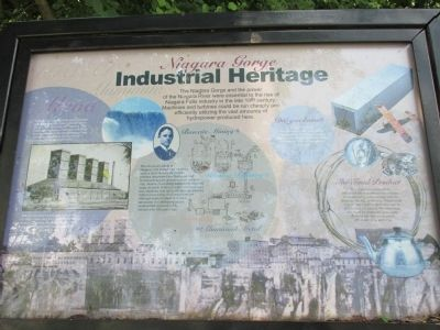 Niagara Gorge Industrial Heritage Marker image. Click for full size.
