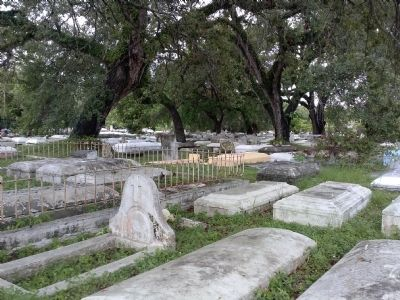 Coconut Grove Cemetery on Charles Avenue image. Click for full size.