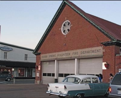 Silver Spring Firehouse image. Click for full size.