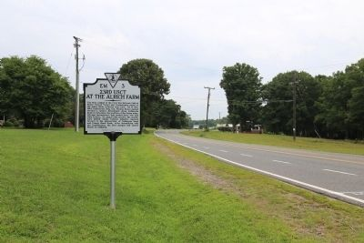 23rd USCT At the Alrich Farm Marker image. Click for full size.