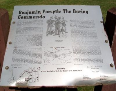 Benjamin Forsyth: The Daring Commando Marker image. Click for full size.