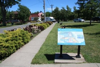 Sackets Harbor Marker image. Click for full size.