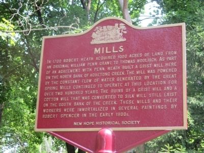 Mills Marker image. Click for full size.