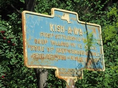 Kish-A-Wa Marker image. Click for full size.