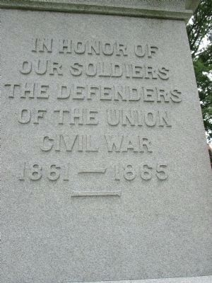 Belfast Civil War Monument (front) image. Click for full size.