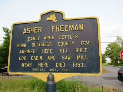 Asher Freeman Marker image. Click for full size.