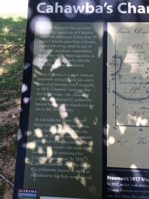 Left side of marker & text. image. Click for full size.