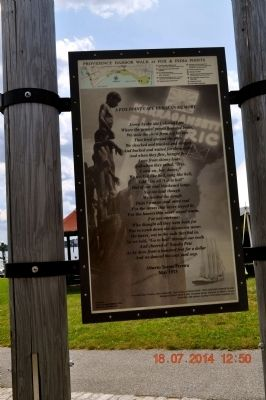 Fox Point Cape Verdean Community Marker image. Click for full size.