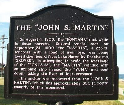"The ""John S. Martin"" Marker image. Click for full size."