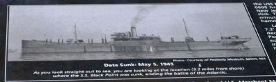 Date Sunk: May 5, 1945 image. Click for full size.