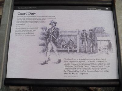 Guard Duty Marker image. Click for full size.