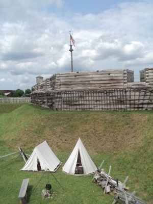 Family Campground at Fort Stanwix image. Click for full size.